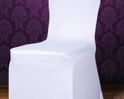Housse de chaise en lycra avec nœud